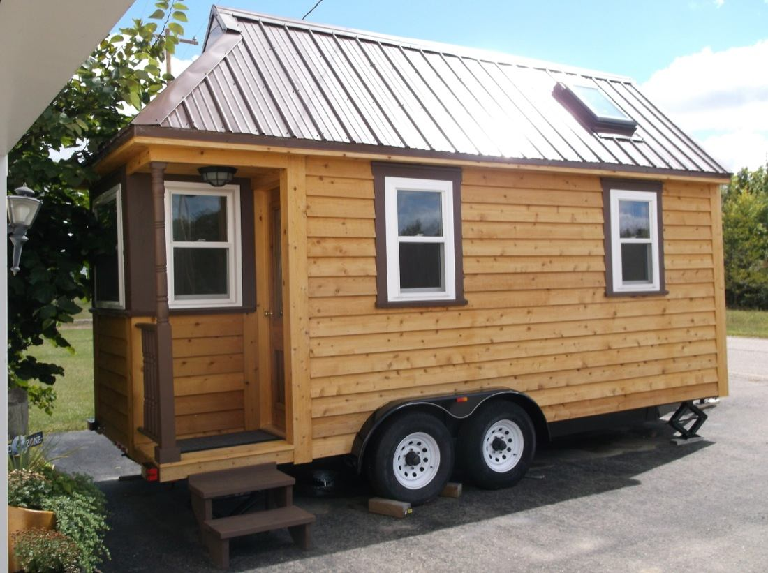 Tiny Home Designs: 135 Sq. Ft. Tiny House For Sale: Built On Tumbleweed Trailer