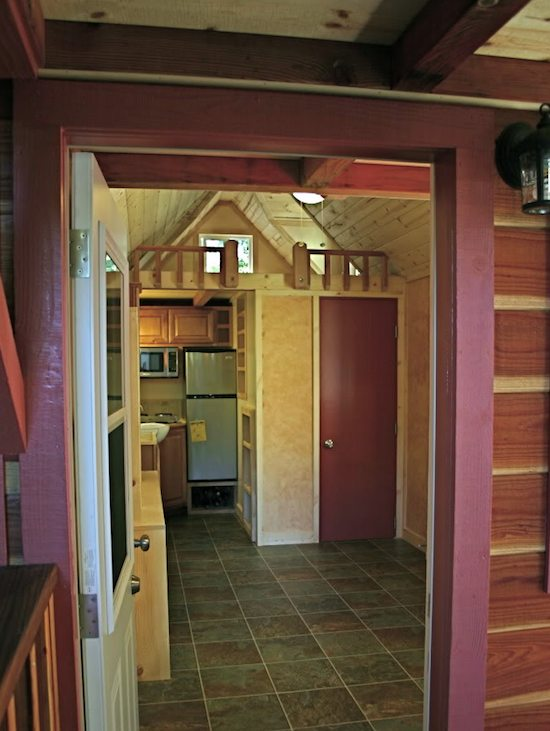 Tiny House on a Trailer - Interior Overview