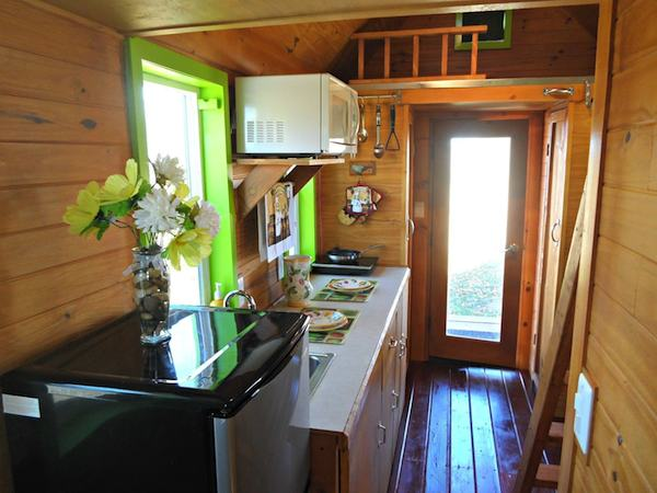 Tiny Log Homes On Wheels