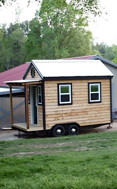 Side View of Tiny House