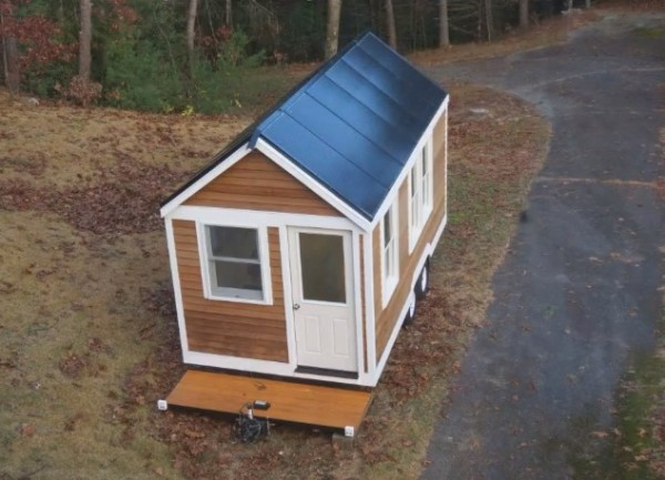 Solar Tiny House Doubles As Tri Toon Houseboat