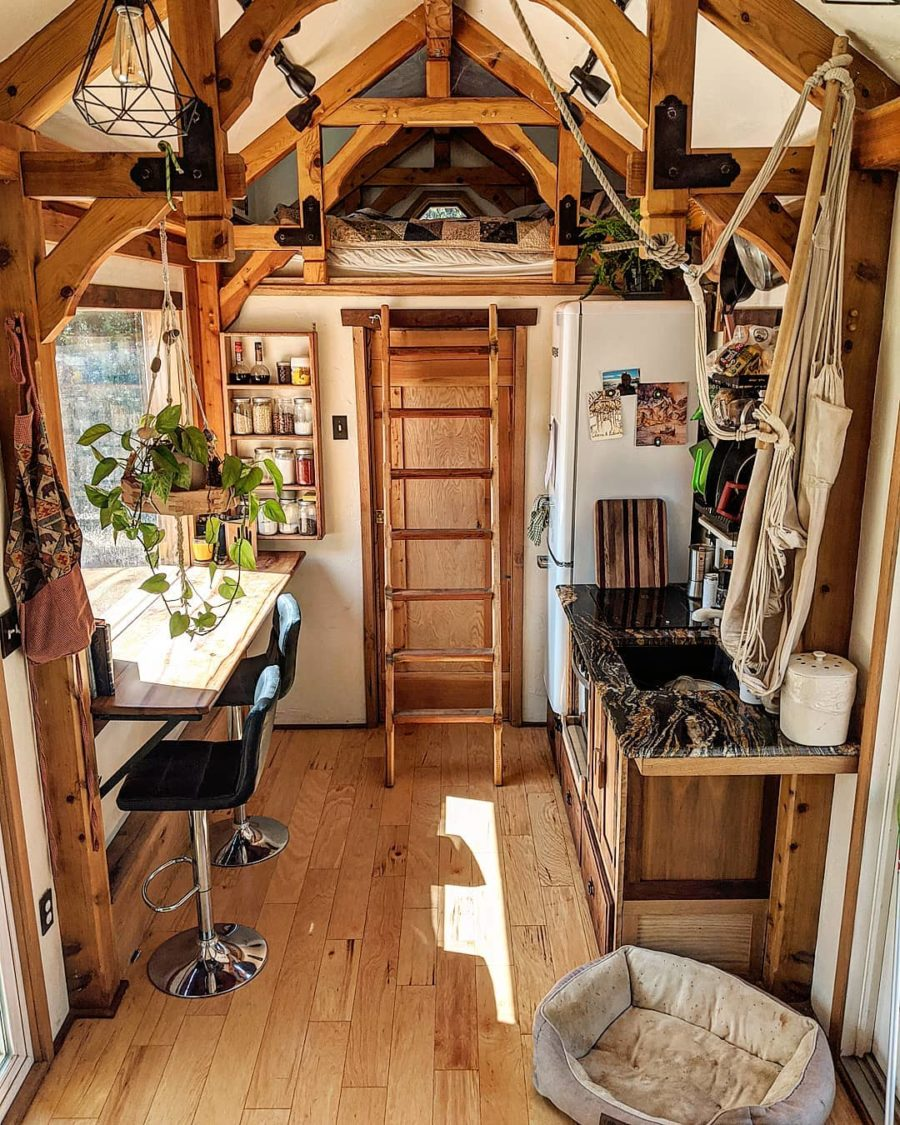 Tiny House Wild Adventures Timber Framed Tiny House 8