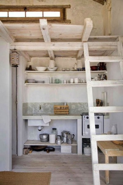Uruguay Tiny Beach House Kitchen