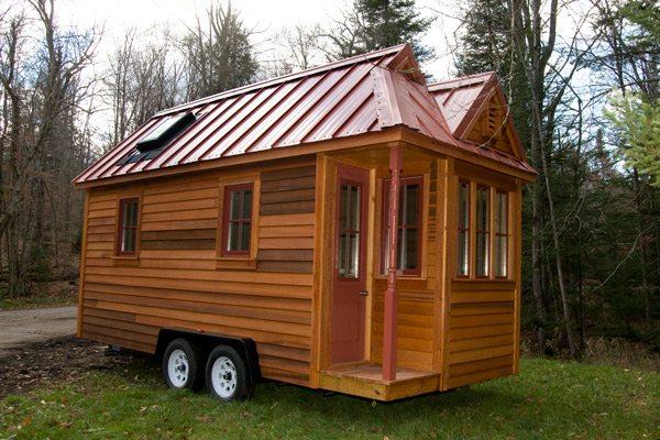 new 130 sf fencl tiny house available for sale from