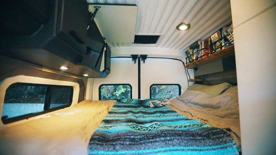 ransit Van Conversion with Two Sliding Doors, Shower & Toilet! 3