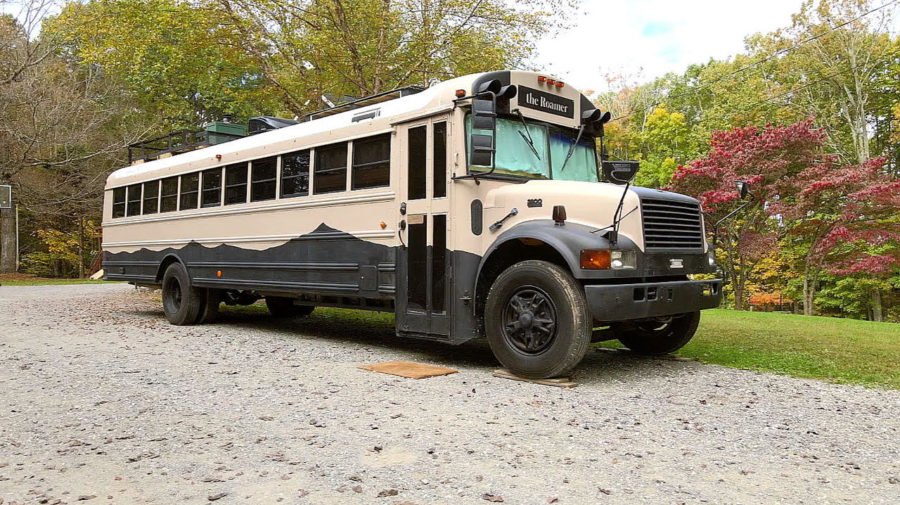 Architecture Student's $10k Skoolie Bus Transformation 2