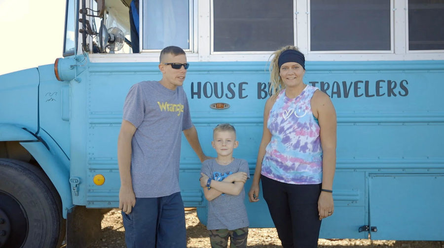 "Family Trades ""Normal"" Life for Full-Time Bus Living"
