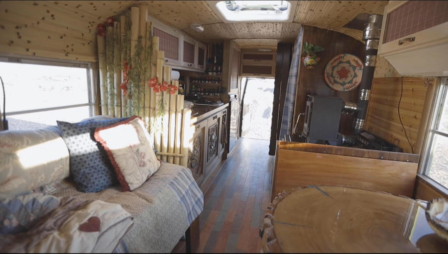Marc's Rainforest Bus Conversion