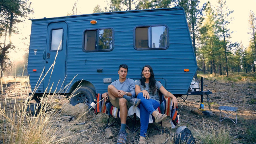 Black Wolf's Travel Trailer Reno: Just $400!