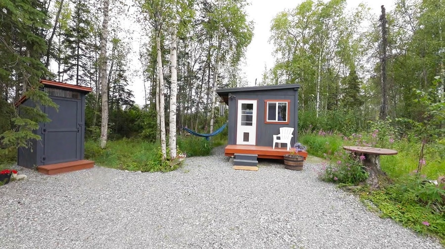 Check Out Her $3k Shed-Turned-Tiny-House in Alaska!