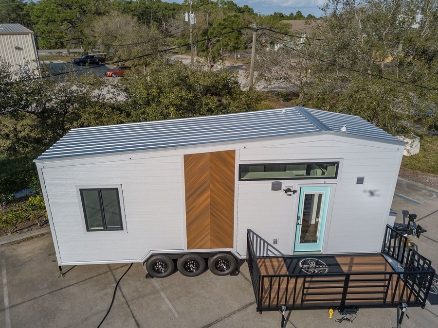 Lindstrom Tiny House from Moveable Roots 001