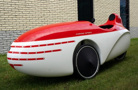 Velomobile - Car Meets Bicycle - All Pedal - Zero Gas
